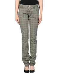 Fly Girl Casual Pants Military Green