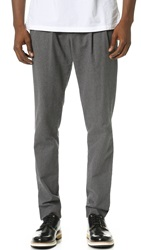 Shades Of Grey Pleated Flannel Pants Grey Flannel