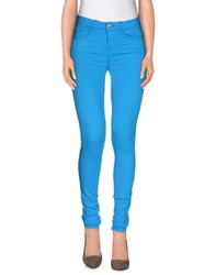 Fornarina Trousers Casual Trousers Women Azure