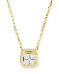 Firenze Mini Diamond Pendant Necklace Frederic Sage