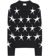 Acne Studios Pacis Star Wool Sweater Black