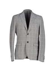 Officina 36 Suits And Jackets Blazers Men Grey