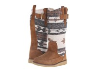 Sanuk Siena Boot Natural Navajo Women's Pull On Boots Brown