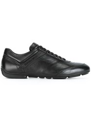 Emporio Armani Lace Up Sneakers Black