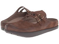 Earth Kharma Dark Brown Vintage Women's Clog Shoes