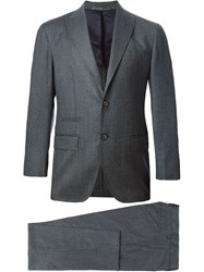 Eleventy Two Piece Suit Grey