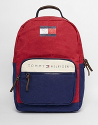 Tommy Hilfiger Lance Backpack Red