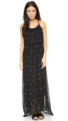 Wildfox Couture Moon And Stars Flower Dress Multi