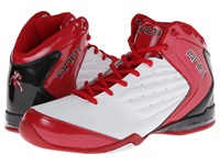 And 1 Master 2 Mid White Varsity Red Black Men's Basketball Shoes
