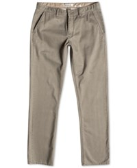 Quiksilver Men's Everyday Chino Pants Dusty Olive