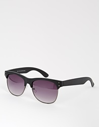 New Look Clubmaster Sunglasses Black