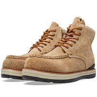 Visvim 7 Hole Moc Toe Boot Beige