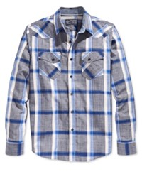 American Rag Wise Plaid Long Sleeve Shirt Only At Macy's