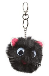 Women's Topshop Fluffy Mouse Key Ring