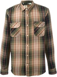 Levi's Vintage Clothing Checked Shirt Nude And Neutrals