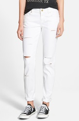 Standards Practices Boyfriend Skinny Jeans White