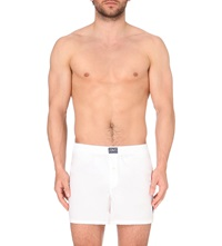 Ralph Lauren Logoembroidered Stretch Boxers White