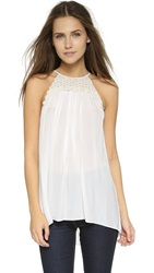 Ramy Brook Belinda Blouse Summer White Pearl