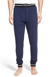 Men's Diesel 'Umlb Martin' Thermal Sweatpants Navy Blue