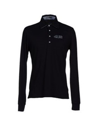 Cesare Paciotti 4Us Polo Shirts Black