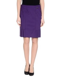 22 Maggio Knee Length Skirts Mauve