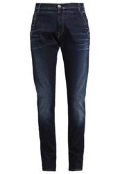 Replay Denice Relaxed Fit Jeans Dark Blue Dark Blue Denim