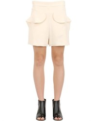 Chloe Textured Light Cady Shorts