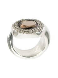 Rosa Maria Quartz Ring Metallic