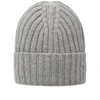 Gant Rugger Ribbed Beanie Grey