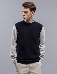 Norse Projects Sigfred Lambswool Block Pullover Sweater