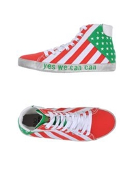 Pantofola D'oro Instant Collection High Tops And Trainers Red