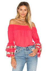 Vava By Joy Han Dina Top Red