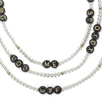 Venessa Arizaga Women's Say What Necklace Pearl