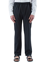 Oamc Straight Leg Drawcord Pants Black