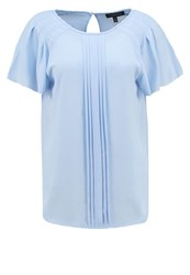 Banana Republic Nile Blouse Glacier Ice Off White