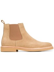 A.P.C. Chelsea Boots Nude Neutrals