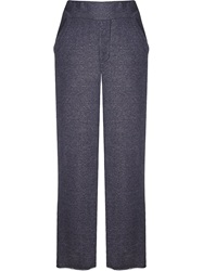 Osklen Melange Wide Leg Trousers Grey