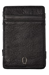 Cathy's Concepts 'Magic' Personalized Leather Wallet Black