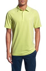 Ag Jeans Men's Ag 'Union' Raglan Pique Polo Lime