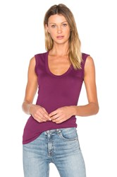 Velvet By Graham And Spencer Estina Tank Purple