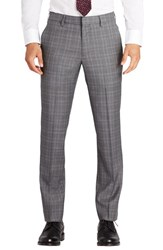 Bonobos Men's Fashion Foundation Flat Front Plaid Wool Trousers