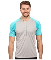 Pearl Izumi Divide Jersey Monument Grey Men's Clothing Gray