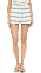 Mara Hoffman Paper Bag Shorts White