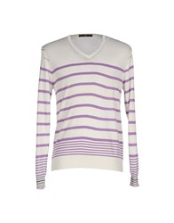 Become Knitwear Jumpers Men Ivory