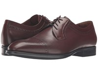 Aquatalia By Marvin K Duke Burnished Cognac Dress Calf Men's Shoes Brown