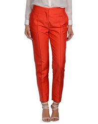 Valentino Trousers Casual Trousers Women Red