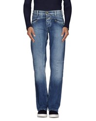 Met Denim Denim Trousers Men