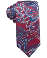 Tasso Elba Men's Margutta Paisley Classic Tie Only At Macy's Red
