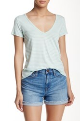 Leibl '38 Deep V Neck Tee Green