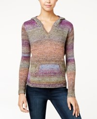 American Rag Ombre Hooded Sweater Only At Macy's Dusty Oliv